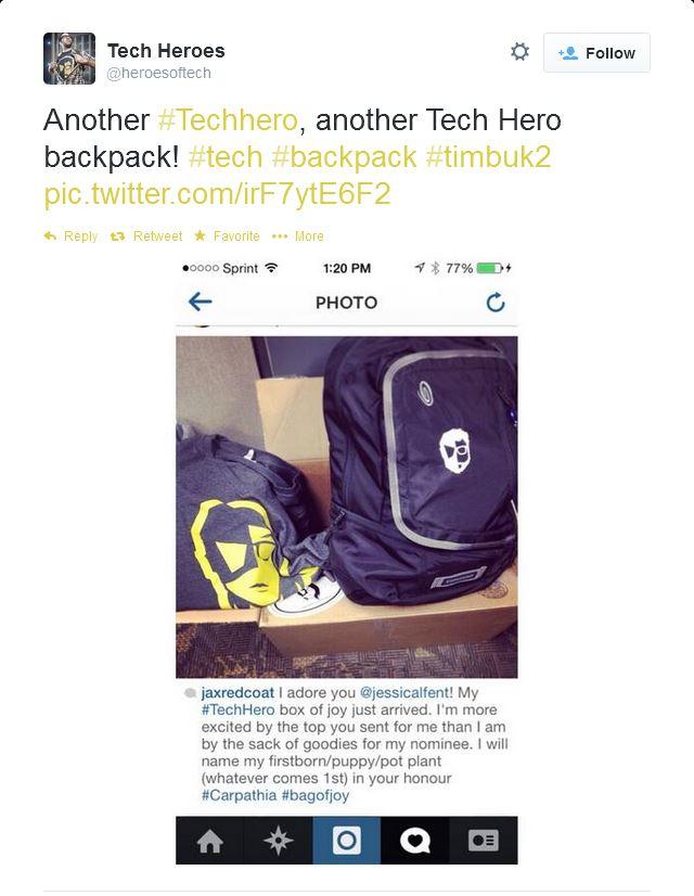 Carpathia / Tech Hero / @heroesoftech